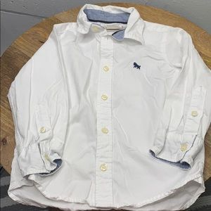 Label of graded goods button down